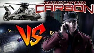 Darius vs. Kuru's Police Chopper - NFS Carbon