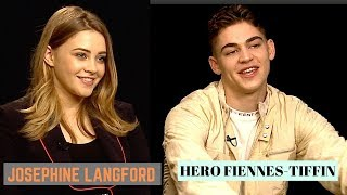 'AFTER' Hero Fiennes-Tiffin & Josephine Langford on REAL Romance and Intimate Scenes (2019)