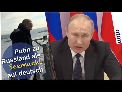 Putin zu Russland als Seemacht auf deutsch [Video]