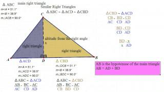 Geometry: Unit 8: Day 4: Similar Right Triangles