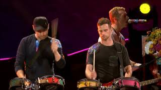 """Hymn for the Weekend"" - Coldplay Live! (HD) Rose Bowl 2017"
