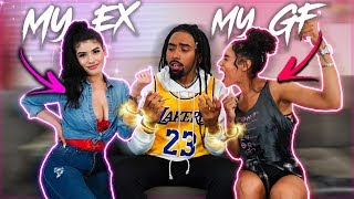 HANDCUFFED To My EX & GIRLFRIEND For A DAY!! *INTENSE* Challenge