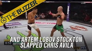 Artem Lobov STOCKTON SLAPPED Diaz's own teammate! | @TheBuzzer | FOX SPORTS