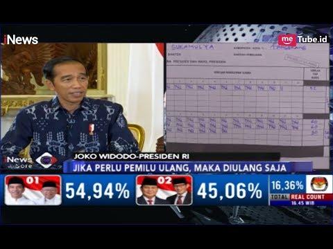 Ditanya soal Kecurangan Pemilu, Jokowi: Laporkan Saja ke Bawaslu - iNews Sore 22/04