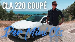 Mercedes CLA 220 Coupé 2019 - Test & Fahrbericht des Mini CLS [deutsch]
