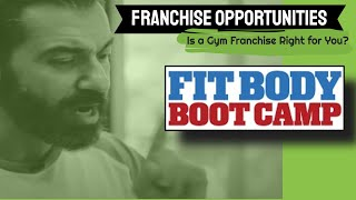 Fit Body Boot Camp best fitness business franchise