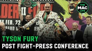 """Tyson Fury: """"Not bad for an old fat guy that can't punch, eh?"""" 