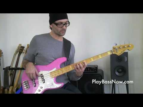 1/2 - Pentatonic scale - the 5 positions on bass