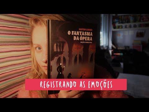 LENDO O FANTASMA DA ÓPERA | Livros e mais #Vlog17
