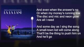 La La Land - Another Day of Sun - Lyrics