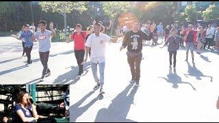 Downtown Disney Flashmob Proposal: Sinheang and Ryo (Cut)