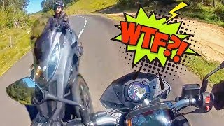 Stupid, Crazy & Angry People Vs Bikers 2019 - TOO CLOSE!!!!