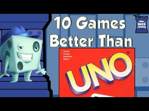 10 Games Better Than UNO - with Tom Vasel
