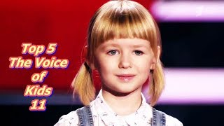 Top 5 - The Voice of Kids 11