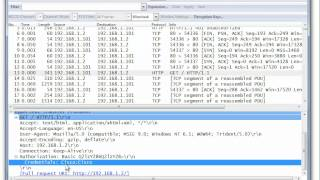 Capturing HTTP Passwords From a Cisco 1240 AP Using Wireshark