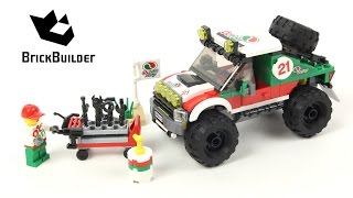 Lego City 60115 4 x 4 Off Roader - Lego Speed Build
