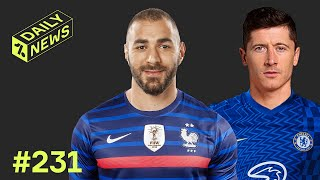 Chelsea BATTLE for Lewandowski + Benzema WILL be at the Euros!