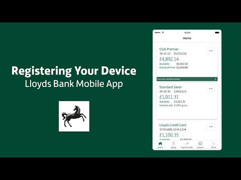 Lloyds Bank Uk Mobile Banking Register Your Device
