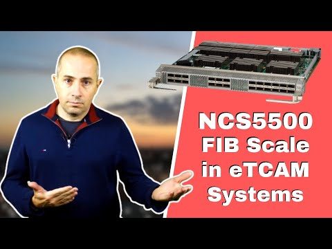 NCS5500 Route Scale with eTCAMDemo
