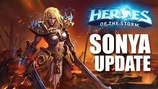 Sonya talent rework! // Heroes of the Storm
