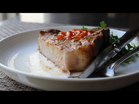 "Perfect Pork Chops – How to Make ""Dry-Brined"" Pork Chops"
