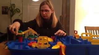 Aquaplay 616 - Schleusen Box Tragbar - Rezension Kinderspielzeug-Test