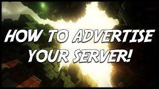 Minecraft | Best ways to advertise your server!