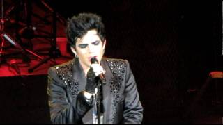 Adam Lambert - HD - Loaded Smile Plus Intro - River Rock Casino - Vancouver Canada