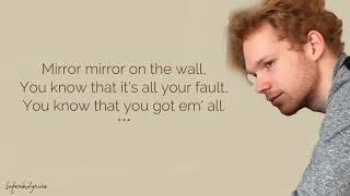 Chase Goehring - Mirror / Lyrics (America's Got Talent)