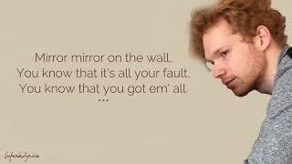 Chase Goehring - Mirror / Lyrics (America's Got Talent)