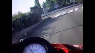 preview picture of video 'Test 2 Route prèt de Saint Cyr'