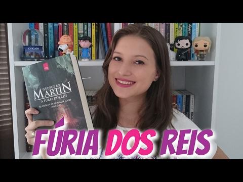 LENDO AS CRÔNICAS DE GELO E FOGO - A FÚRIA DOS REIS | Patricia Lima