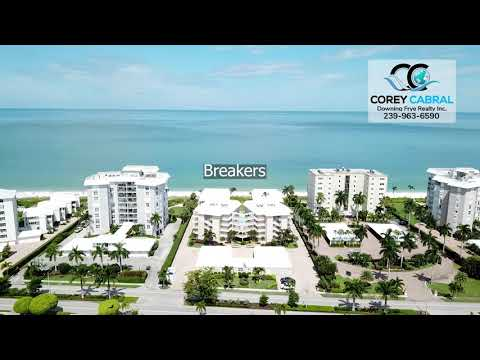 Moorings Beachfront low and mid-rise Condos Identified in Naples, Florida