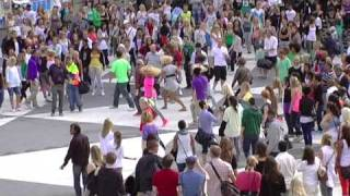 Michael Jackson dance tribute in Stockholm