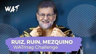 El trap de Rajoy | Christian Flores | WATmag