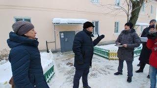 Глава Пролетарского округа Тулы устроил УК разнос за сосульки, снег и лед