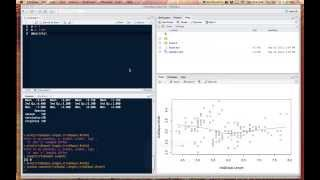 Getting started with R and RStudio