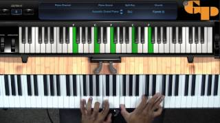 How To Play Great God Great Praise Kurt Carr (Keyboard Tutorial)