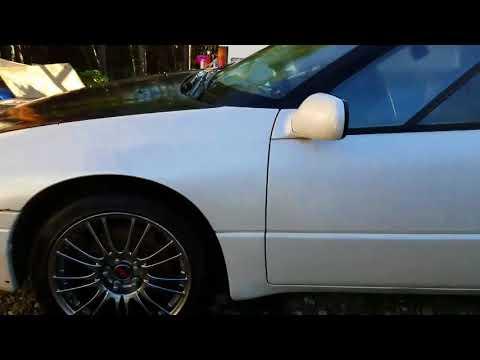 subaru svx with  sti wheels