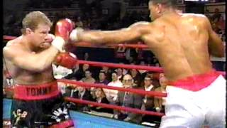 Tommy Morrison vs Marcellus Brown