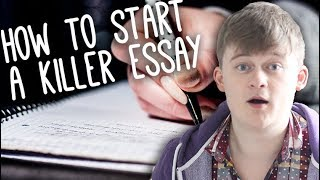 How to start an essay with a hook | Essay Tips