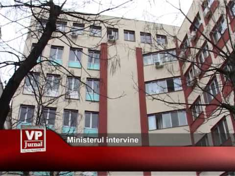 Ministerul intervine