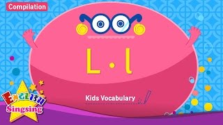 Kids từ vựng biên soạn - Words bắt đầu với L, l
