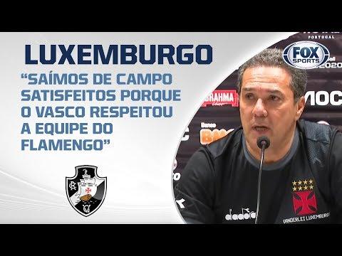 VASCO EMPATA NO MELHOR JOGO DO ANO! Acompanhe a coletiva de Luxemburgo