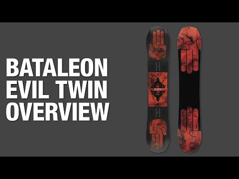 Bataleon Evil Twin 2018-2019 Snowboard Review | The Snowboard Asylum