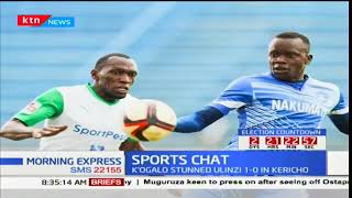 Sports Chat - 23rd October 2017 - K'ogalo Army shoots Ulinzi to clinch 2017 KPL title