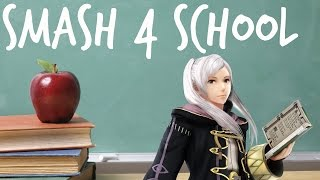 If Smash 4 Characters Were in School! (Part 1)