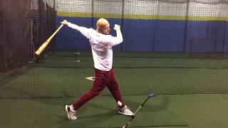 Best Hitting Drill to Check Launch Position and 1st Movement