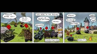World Of Tanks: funny comic