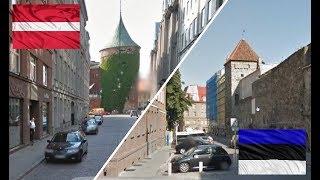 Рига и Таллин. Латвия - Эстония. Сравнение.